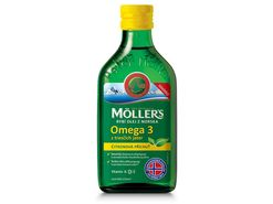 Möller's - Omega 3 Citron, 250 ml